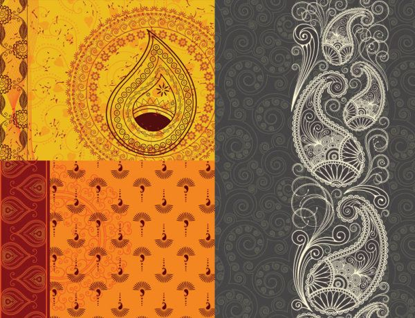 Different idea what about tribal or indian bali graphics for Wallpaper designs for bedroom indian