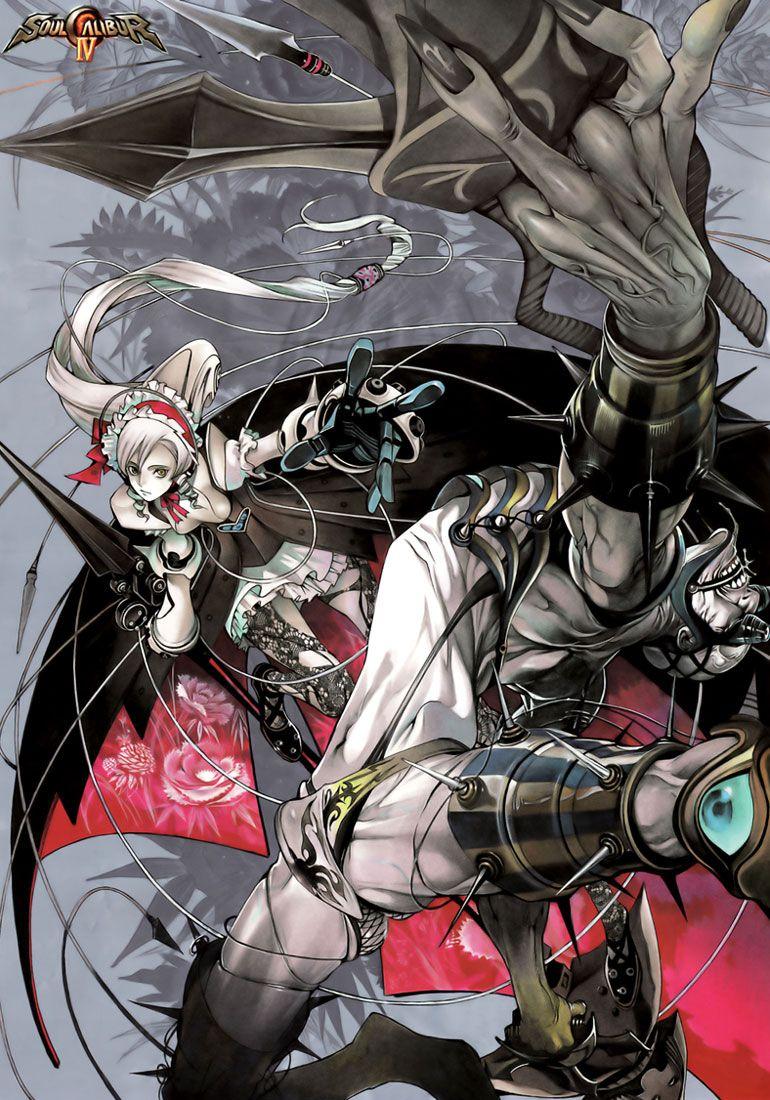 Anime Characters Soul Calibur 5 : Promotional artwork soul calibur pinterest