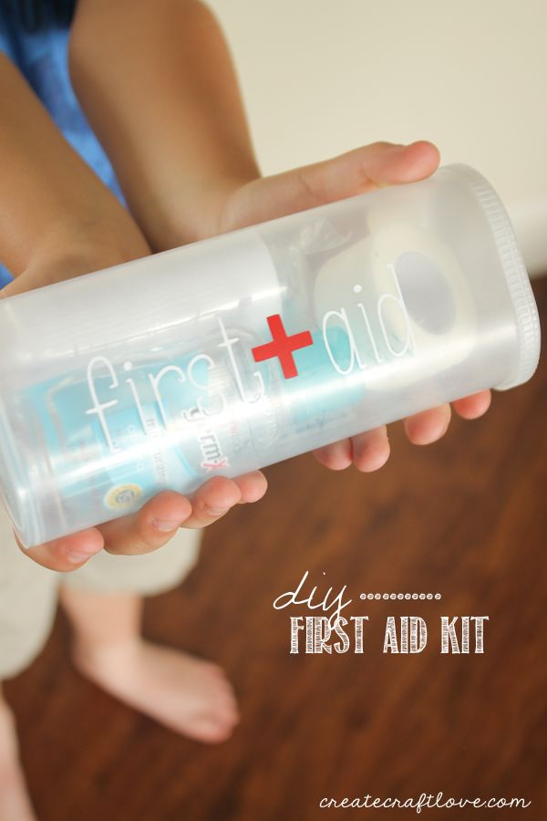 Diy First Aid Kit Diy First Aid Kit Crystal Light Containers Crystal Light
