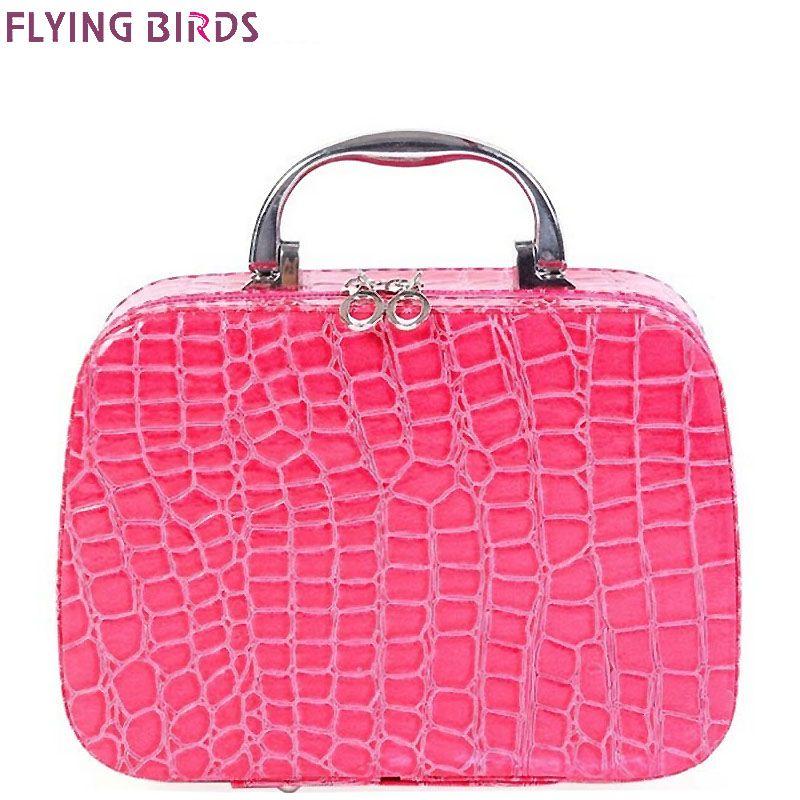c657414c4c51 FLYING BIRDS Cosmetic Bags Box Makeup Bag women cosmetic cases ...