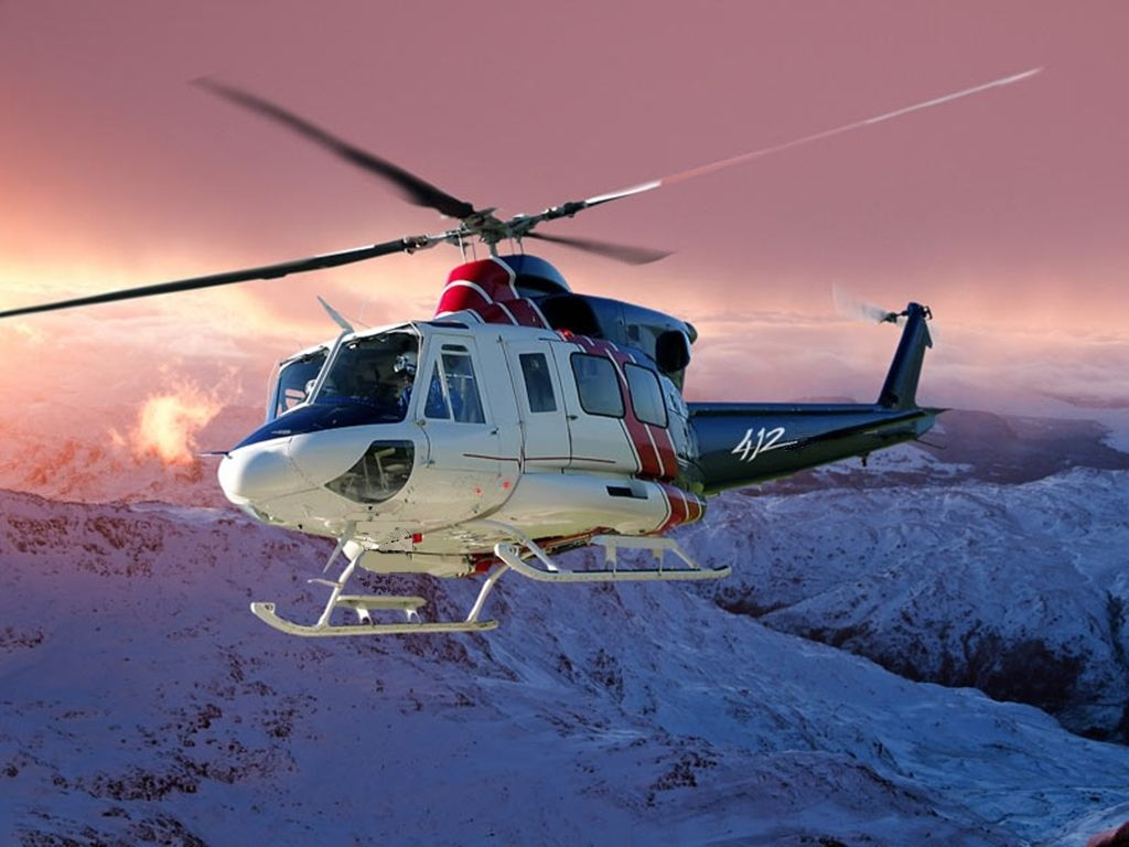 Обои AB-212, Agusta-Bell, транспортный вертолёт. Авиация foto 11