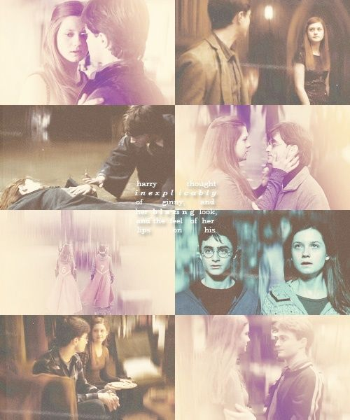 Harry And Ginny Harry Potter On We Heart It Harry