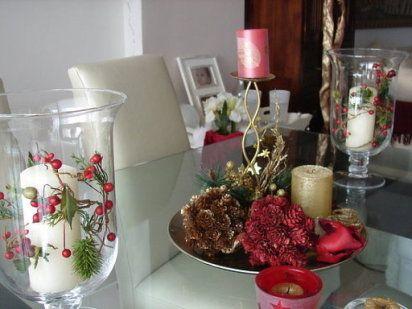 Decoracion de comedores para navidad buscar con google - Mesas decoradas para navidad ...