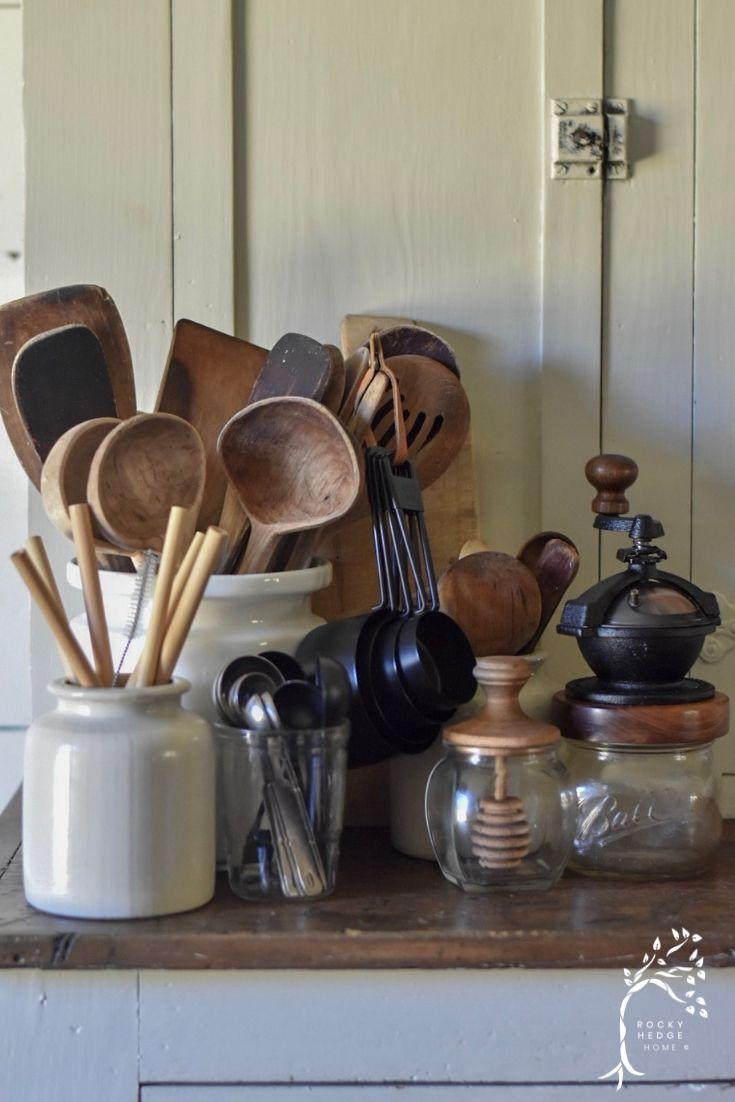 Wooden Cooking Utensils and Tools #kitchenutensils