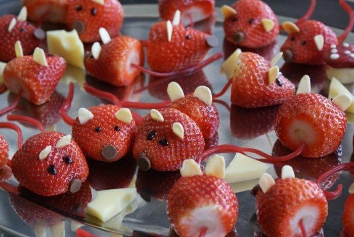 Fingerfood für Kindergeburtstag: 33 einfache Ideen zum Nachmachen #childrenpartyfoods
