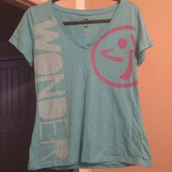 ZUMBA official WONDER top Soft Zumba wonder too, designs on front and back, super cute Zumba gear! Zumba Tops