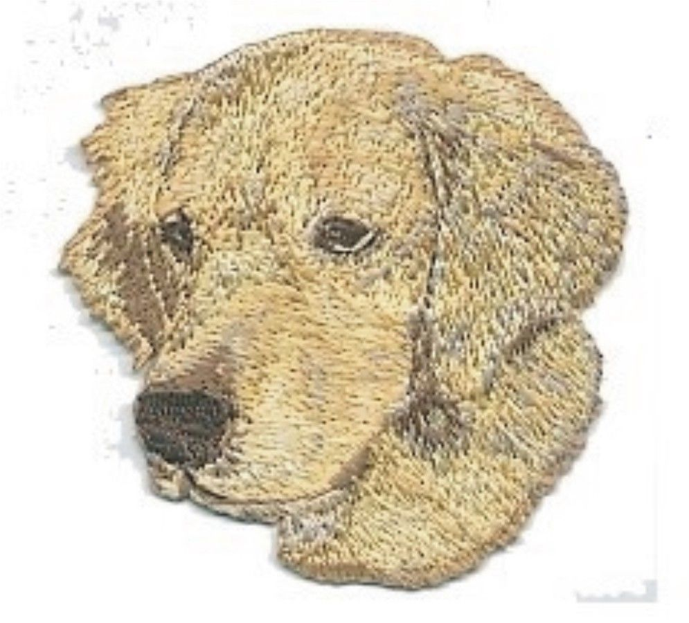 "2/"" x 2/"" Jack Russell Terrier Dog Breed Portrait Embroidery Patch"