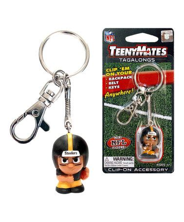 Another great find on #zulily! Pittsburgh Steelers TeenyMate Tagalong Key Chain #zulilyfinds