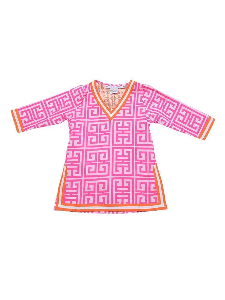 Gretchen Scott Girls' Mandarin VNeck Tunic Gretchen