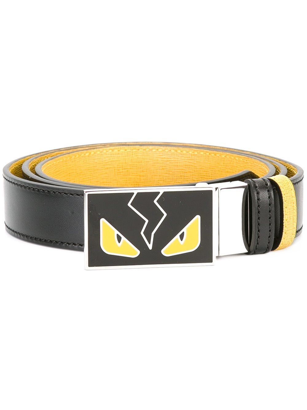 09ebc6fba28e fendi  men  bagbugs  black  yellow  belt  style  fashion www.jofre ...