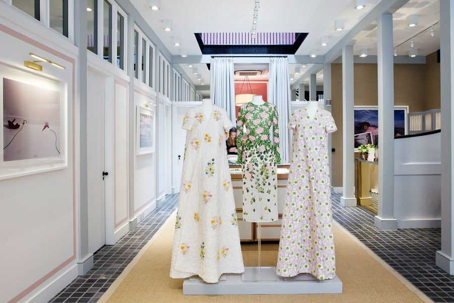 jagger associates services provided by interior designers Moda Operandi Opens A Salon In London