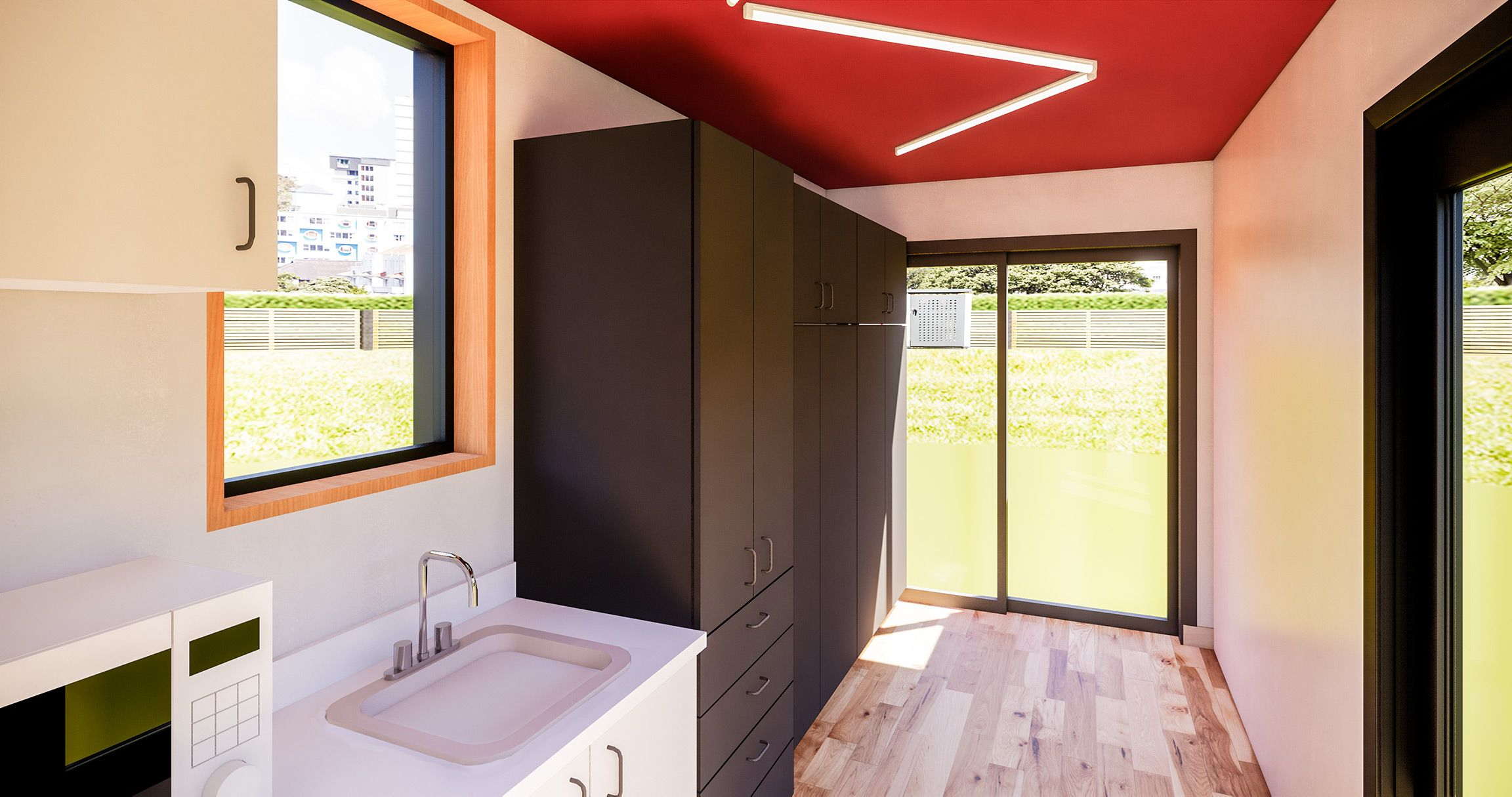 MicroCube Accessory dwelling unit, Container house, Cube