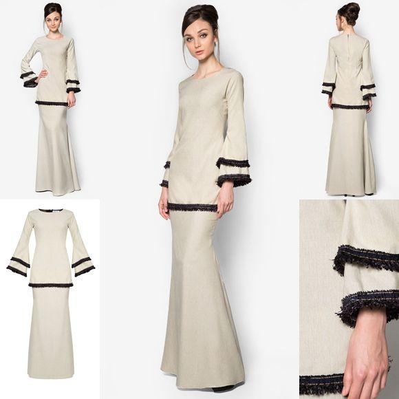 Baju Raya 2016 Baju Kurung Peplum Moden Fesyen Trend Terkini