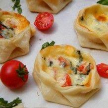 Empanadas with Tomato, Basil and Mozzarella;  Easy, Breezy, DELICIOUS!
