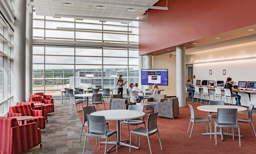 Watford City High School Architect Magazine JLG Architects - new aia final completion