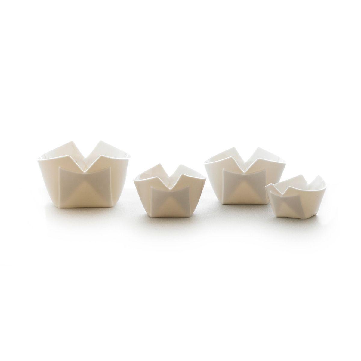 Nudel skål, 4 størrelser, transparent Pia Baastrup