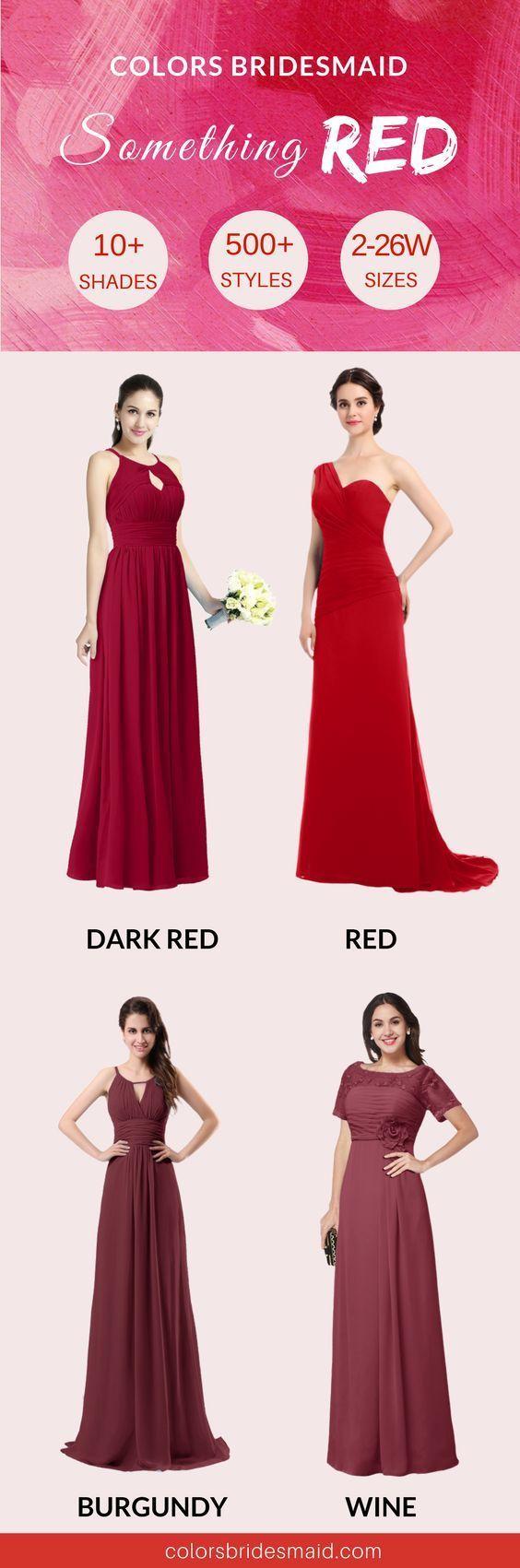 Unsere roten Brautjungfernkleider haben mehr als 10 verschiedene Farbtöne, einschließlich, ab... Unsere roten Brautjungfernkleider haben mehr als 10 verschiedene Farbtöne, einschließlich, aber nicht beschränkt auf rot, dunkel ...,
