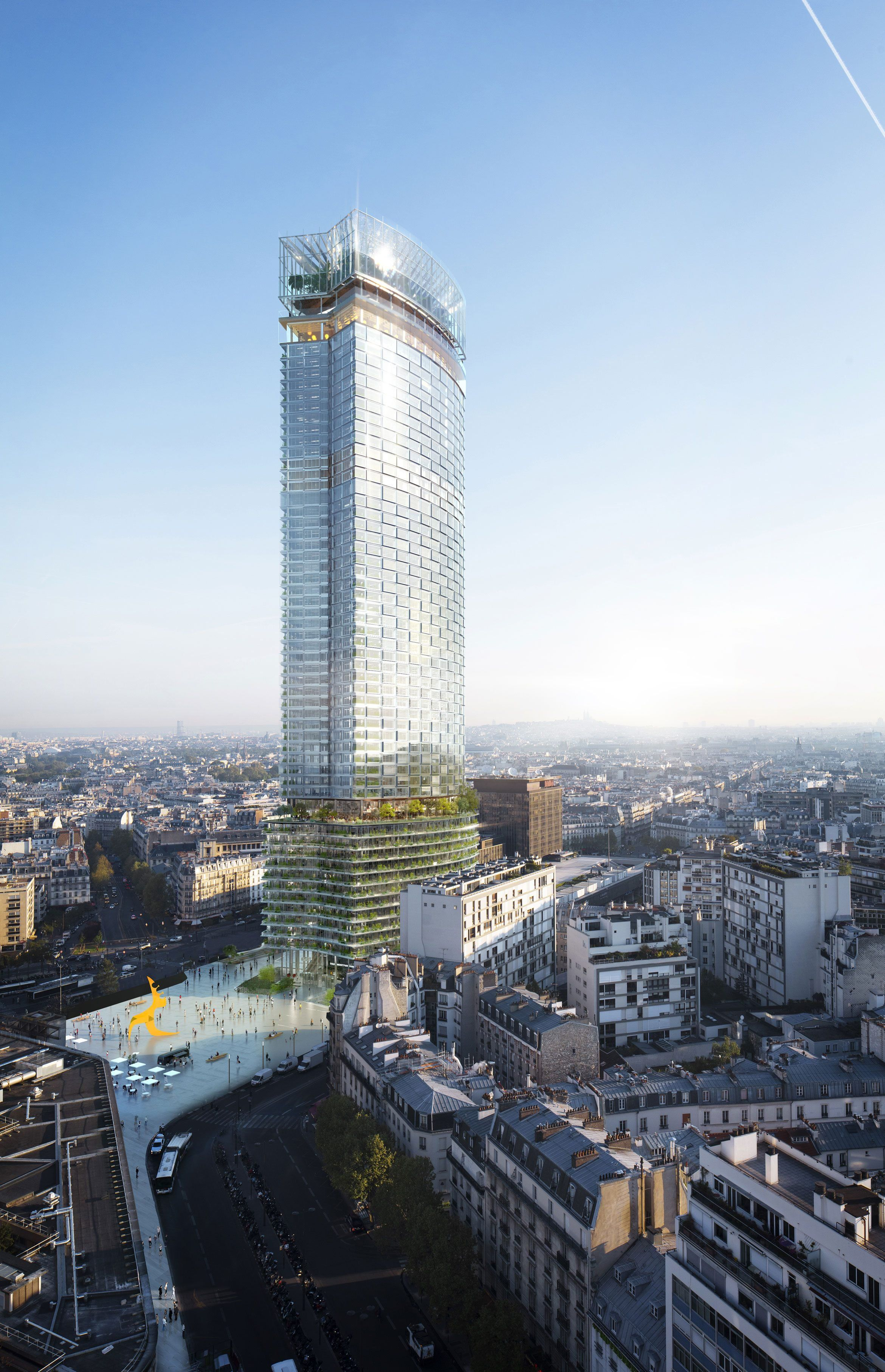 French studio Nouvelle AOM has been selected to overhaul the Tour Montparnasse skyscraper in time