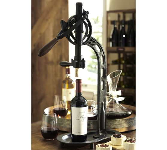 Vintners Standing Wine Opener Pottery Barn I Need This In My Life