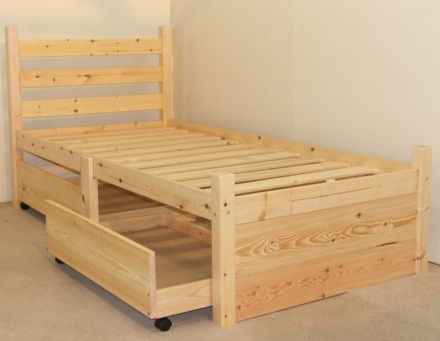 Best Single 3Ft Wooden Storage Pine Bed Frame Can Be Used By 400 x 300