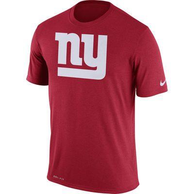 7d184d70d Men s New York Giants Nike Red Legend Logo Essential 3 Performance T-Shirt