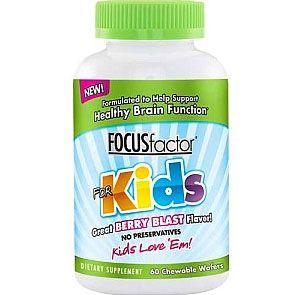 Focus Factor For Kids Vitamins For Kids Focus Vitamins Focus Factor