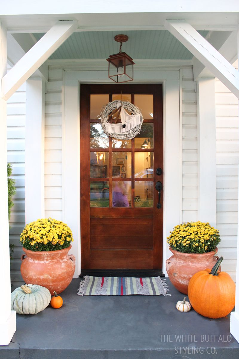 Home Depot Front Entry Doors: Our Cottage Exterior - Before & After