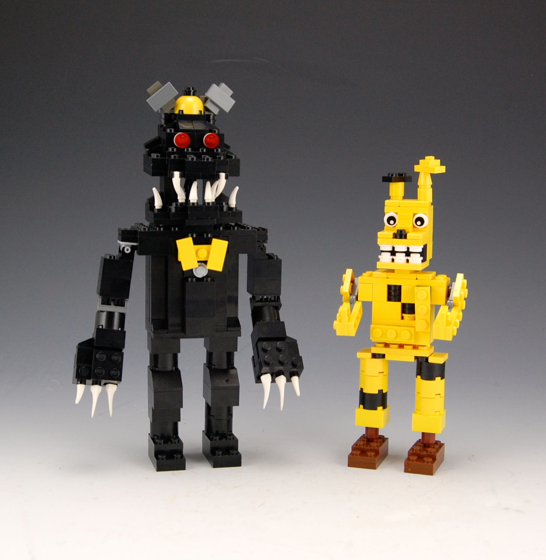 More five nights at freddy s construction sets coming soon - Lego Five Nights At Freddy S 4 Nightmare And Spring Trap By Brickbum