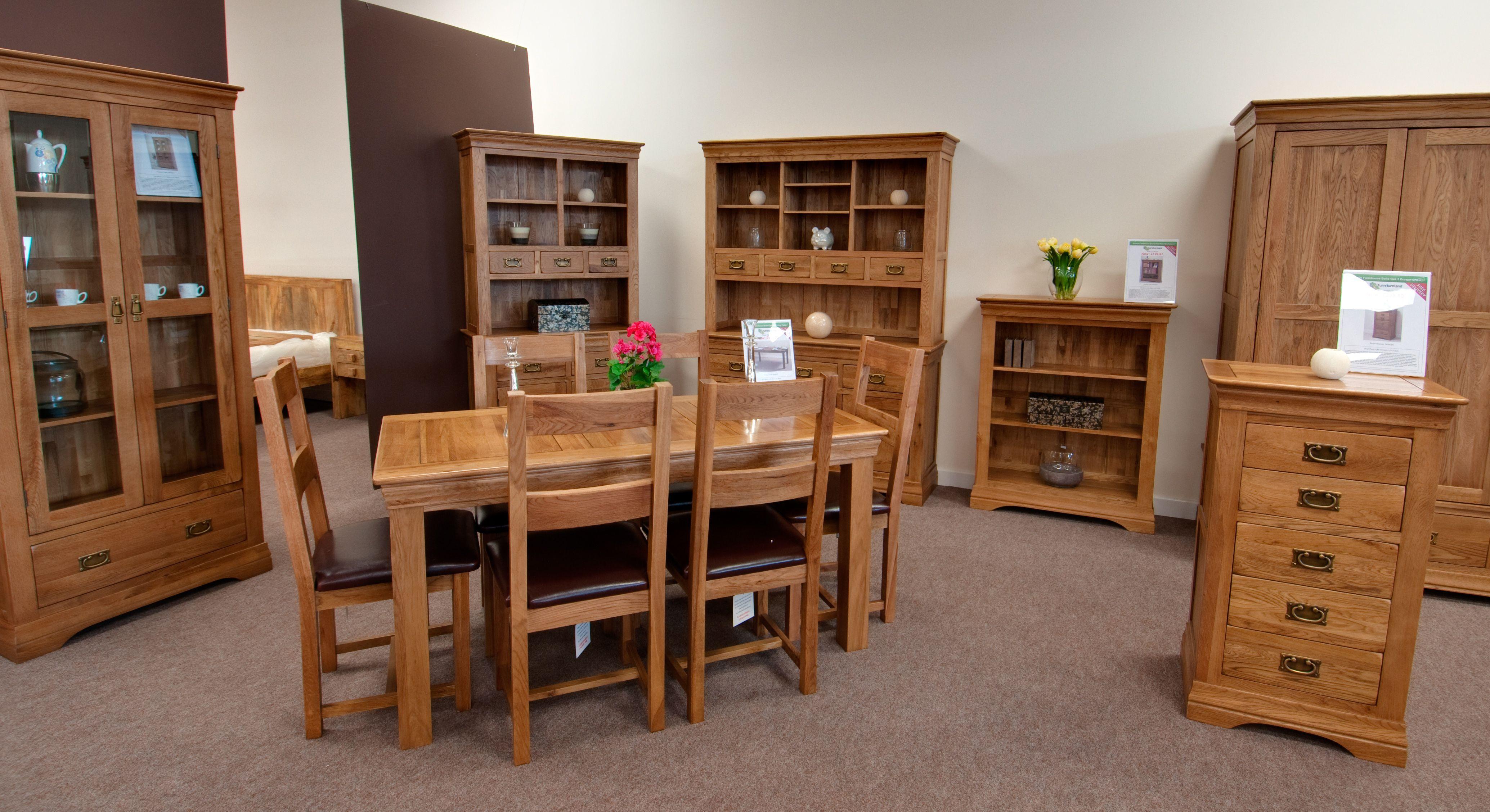 French Farmhouse Solid Oak Furniture Collection Oak Furniture
