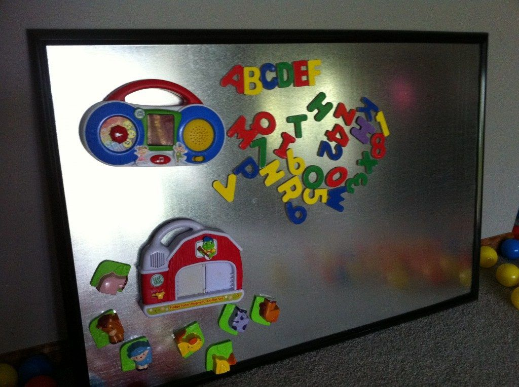 magnetic board for kids room diy magnetic board embe on kids room rh pinterest com Small Magnetic Board Magnetic Boards for Office