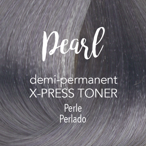 Demi Permanent X Press Toner Demi Permanent Toner Silver Hair Shampoo