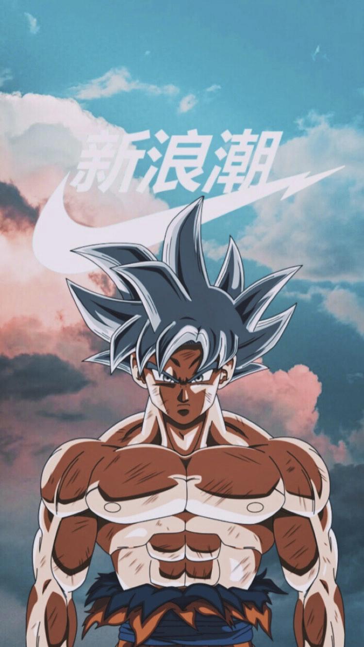 Ultra Instinct Goku Nike Anime Dragon Ball Super Dragon Ball Wallpapers Dragon Ball Super Art