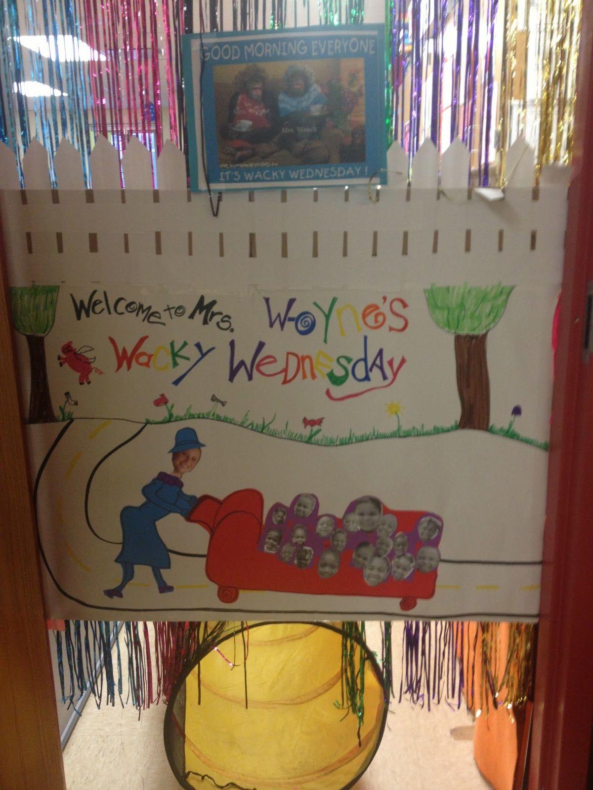 Coyne S Crazy Fun Preschool Classroom Wacky Wednesday