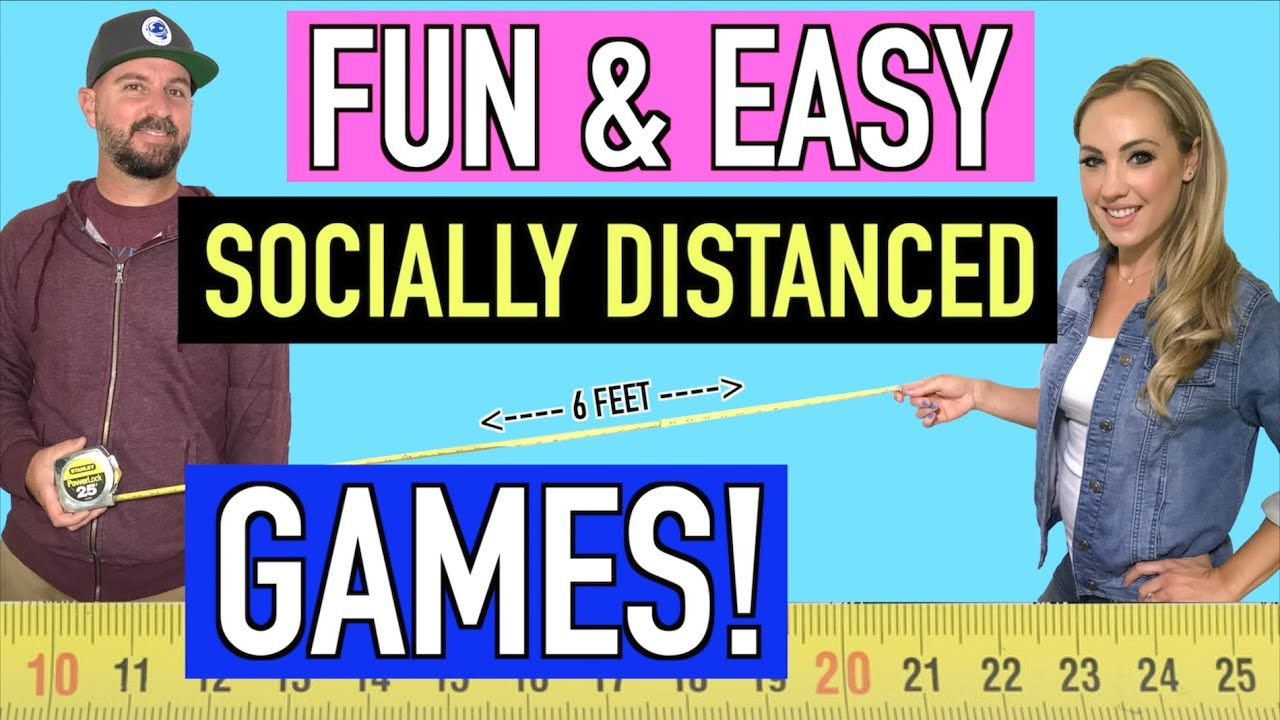 Socially Distanced Games to Play 7 Fun and Easy Games in