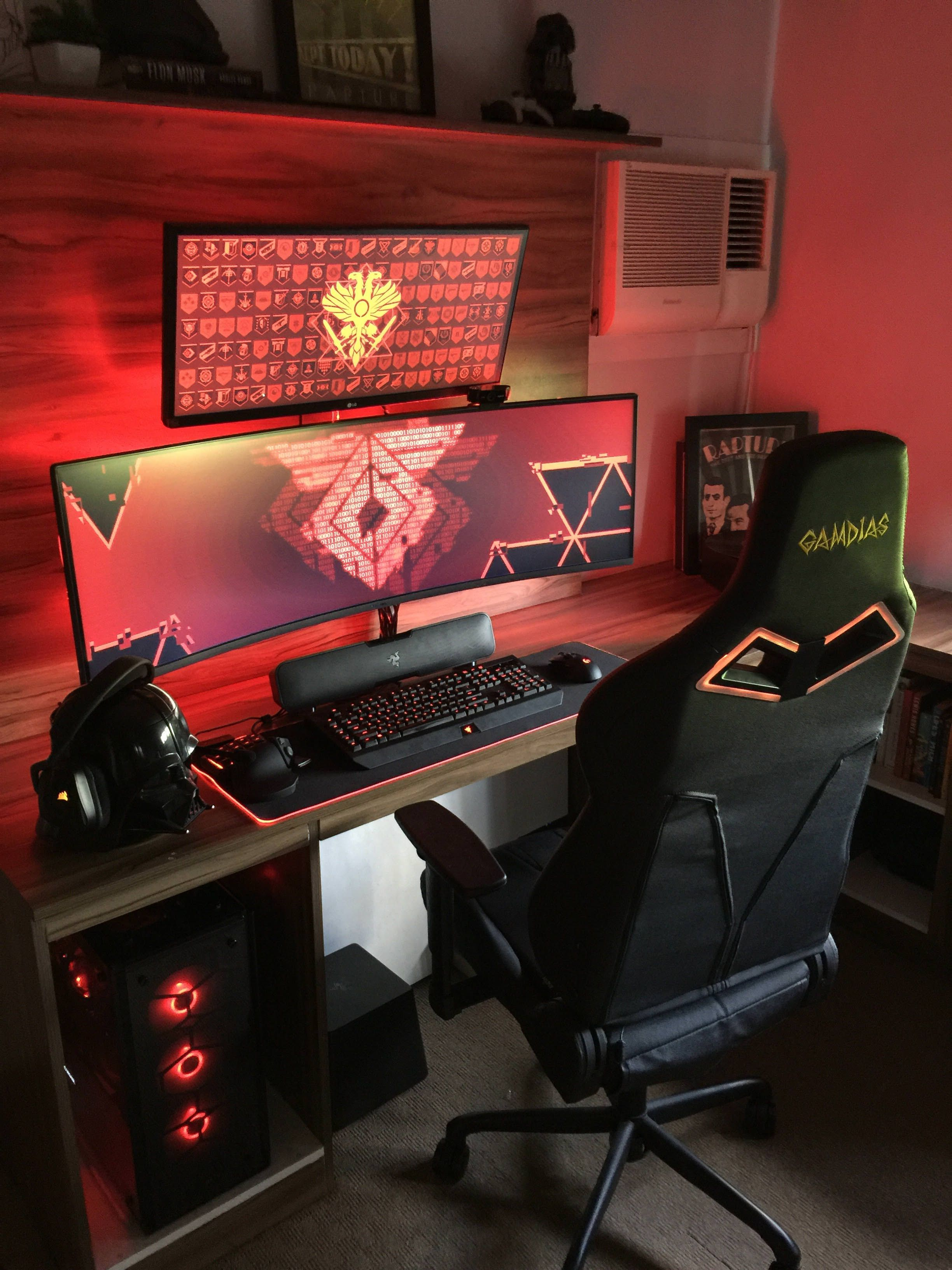 Tis The Season Of Rgb Video Game Rooms Computer Gaming Room