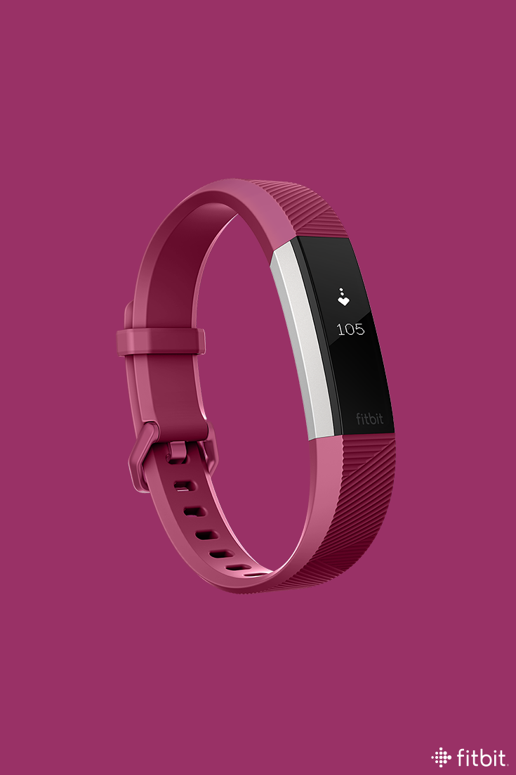 Reach your health and fitness goals with Fitbit Alta HR, the