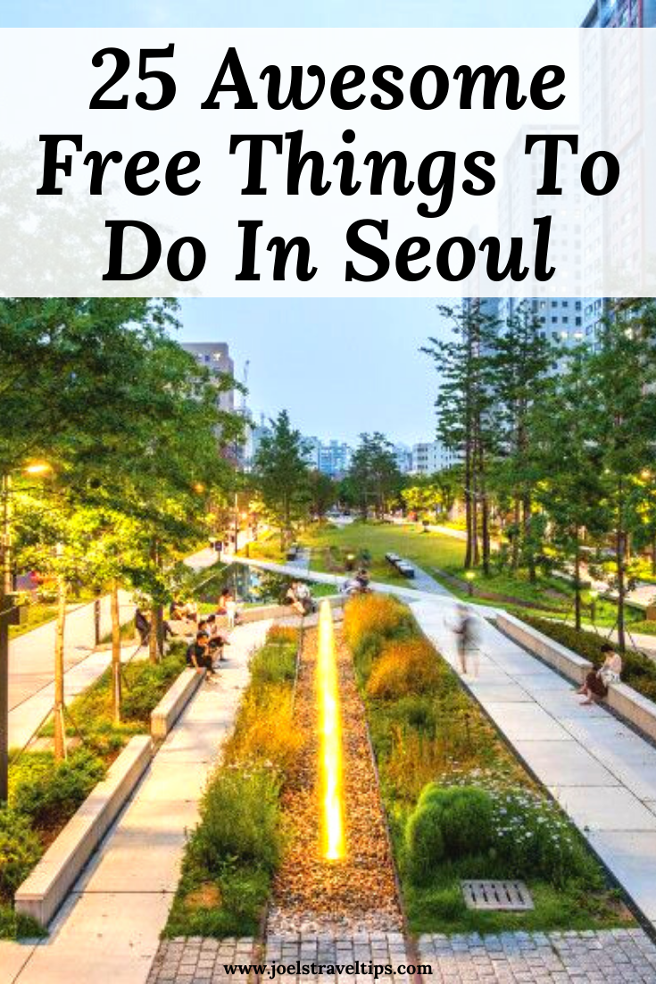 #discoverbooktravel  Free things to do in Seoul #seoul #southkorea #asia #travel #asiatravel #travelasia