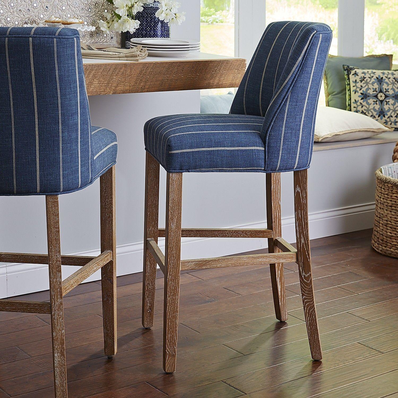 Wondrous Corinne Indigo Counter Bar Stool Furniture Bar Stools Machost Co Dining Chair Design Ideas Machostcouk