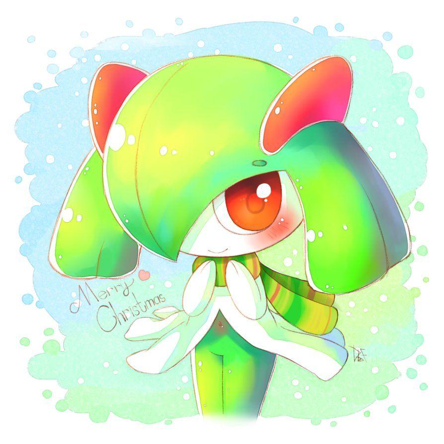 Merry Christmas!! [Kirlia] | Pokemon charmander, Dark type