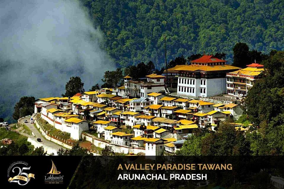 Tawang, Arunachal Pradesh is situated at a height of