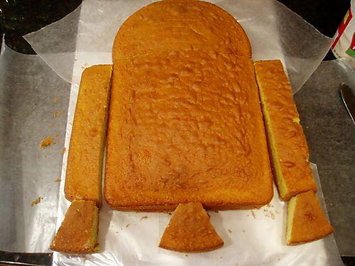Cake Recipes In Pdf: R2D2 Birthday Cake-a-Long