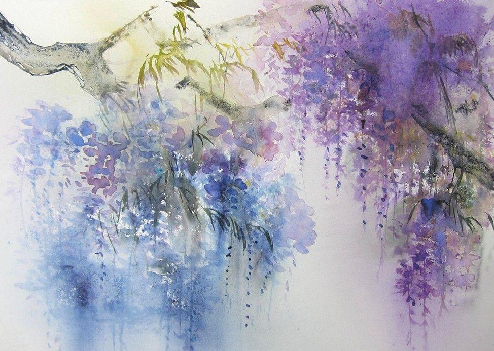 Reine marie pinchon aquarelle art reine marie pinchon for Pinterest aquarell