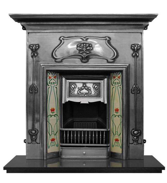 The Magnum Cast Iron Fireplace