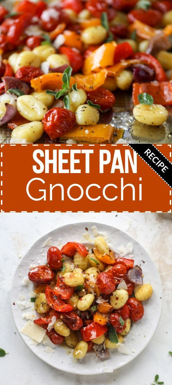 Sheet Pan Gnocchi and Vegetables
