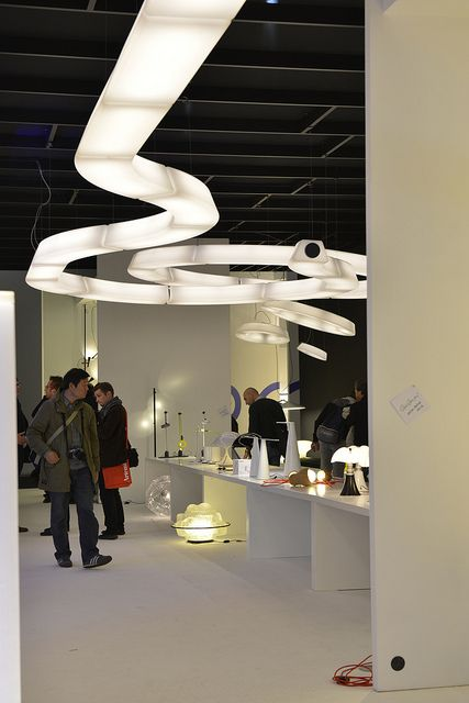 Euroluce - photo by Annalisa Cimmino by iSaloni, via Flickr