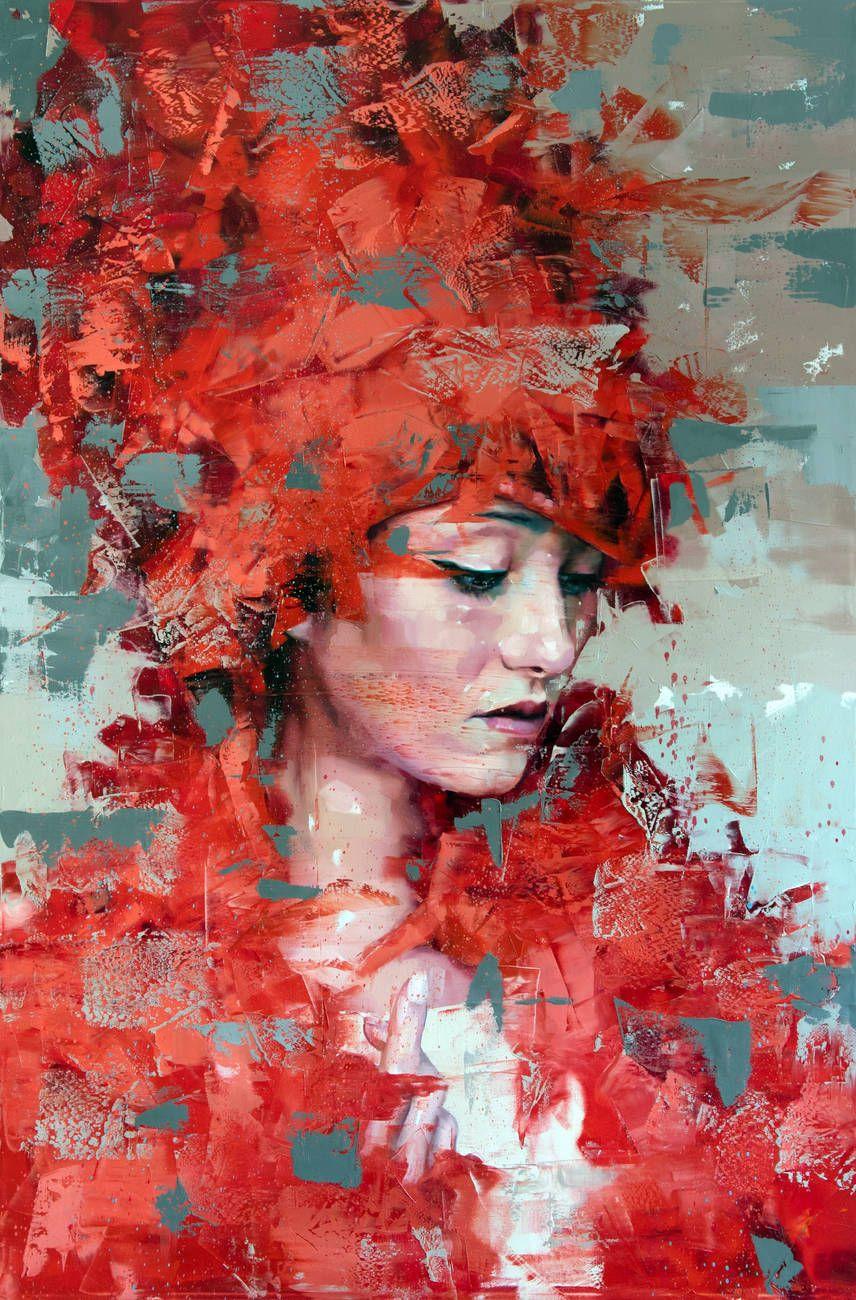 Silvio Porzionato Photorealistic Portraits Portrait Painting Art