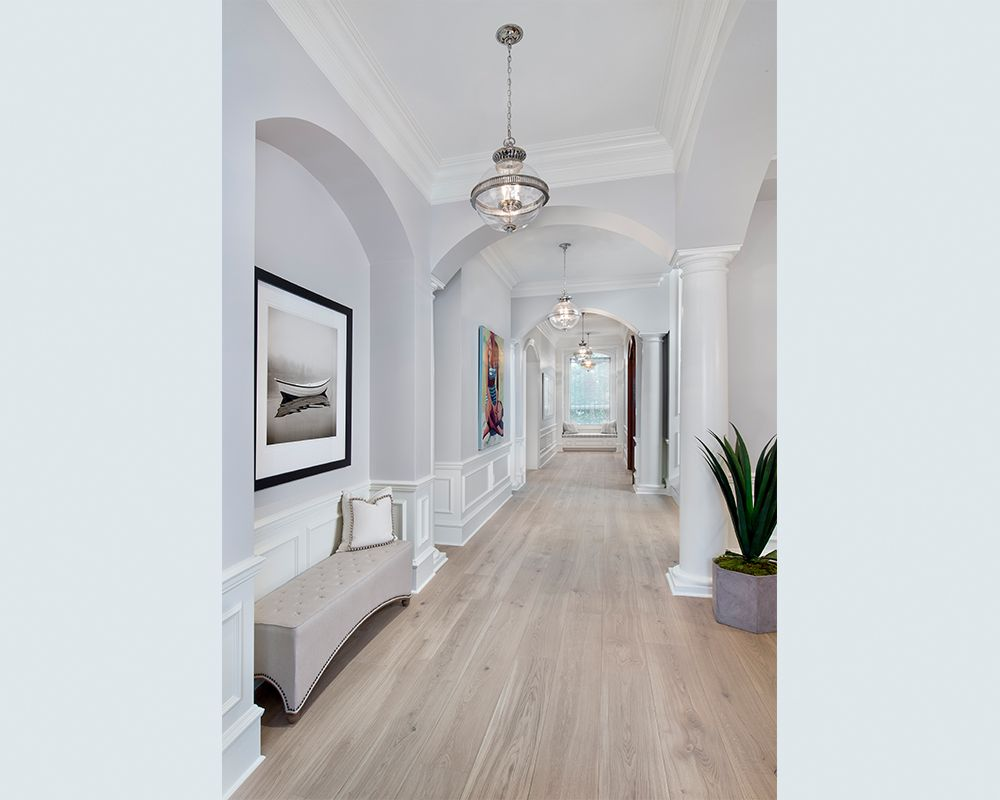 Port Royal Living Hallway Architectural Detail Architectural