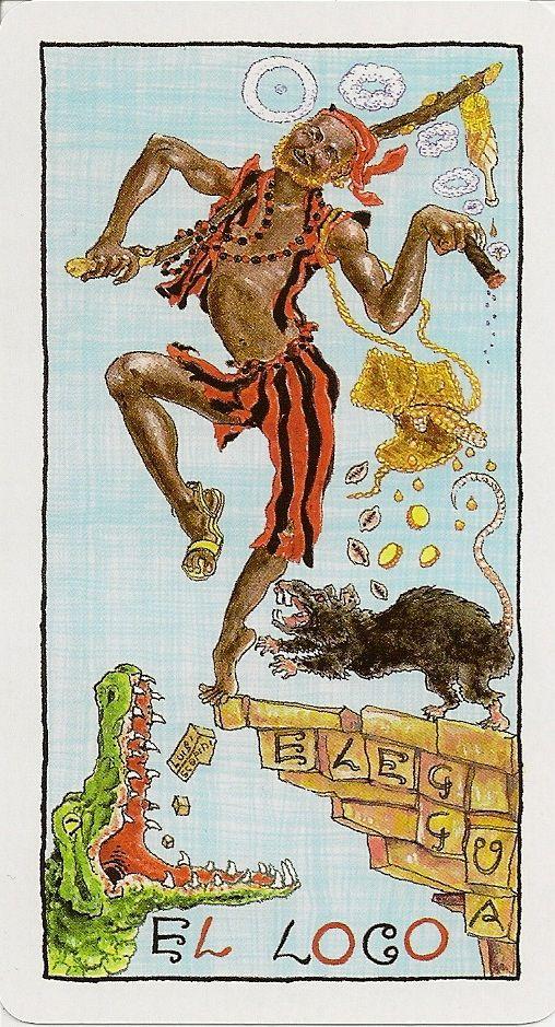 The Fool - Tarot Lukumi - If you love Tarot, visit me at www.WhiteRabbitTarot.com