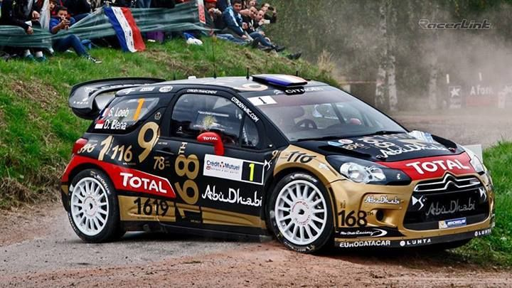 S bastien loeb 39 s numbers nine time wrc world champ s bastien loeb drove this car full of numbers - Voiture sebastien loeb ...