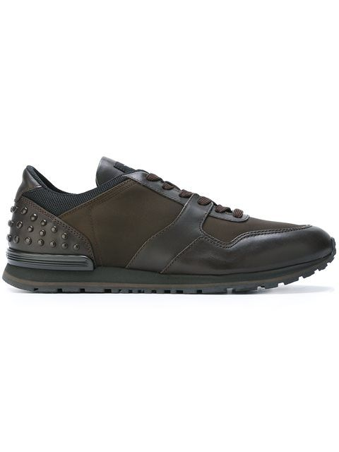 discount reliable cheap sale low shipping fee Tod's Men's Grey Leather Lace-U... recommend Z42Np1yWz